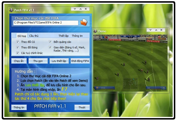 Download Patch V1.1 Patch-FIFA_v1-1_Setup.rar Download pattch v 1.0.